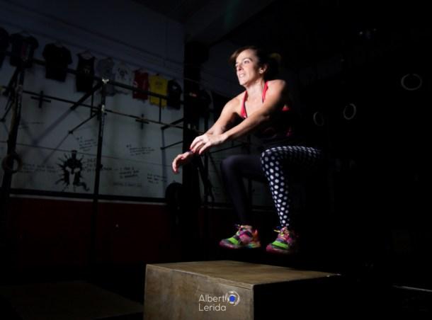 Wod CrossFit Sevilla Girl Soul Lion