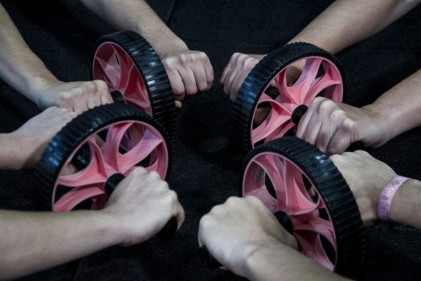 Wod CFS Box CrossFit Sevilla Girls Rueda