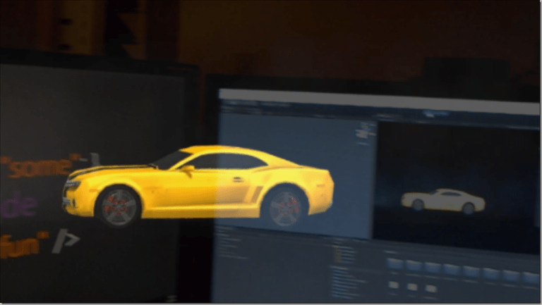 Using the Xbox One controller to drive a holographic car