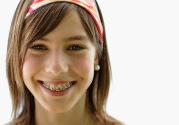 Laughing Teenage Girl --- Image by © Royalty-Free/Corbis