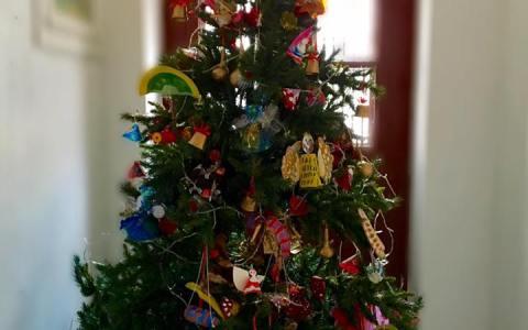 Ο χριστουγεννιάτικος στολισμός του Εργαστηρίου ξεκίνησε…