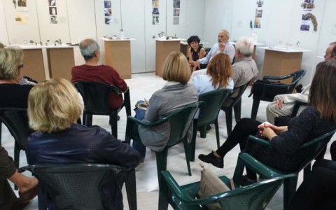 Ομιλία Νίκου Βλαβιανού στα πλαίσια εκδηλώσεων της έκθεσης τμήματος κοσμήματος του Εργαστηρίου Τέχνης Χαλκίδας