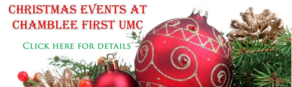 Chamblee First UMC Christmas Events