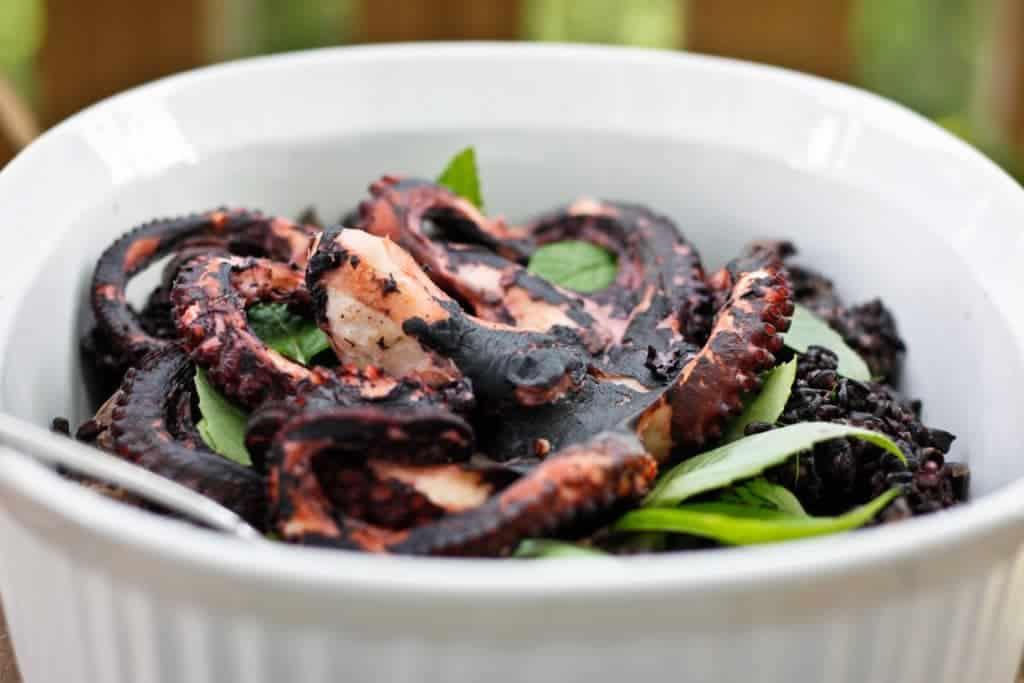 Gourmet Special: Lemon Pepper Octopus