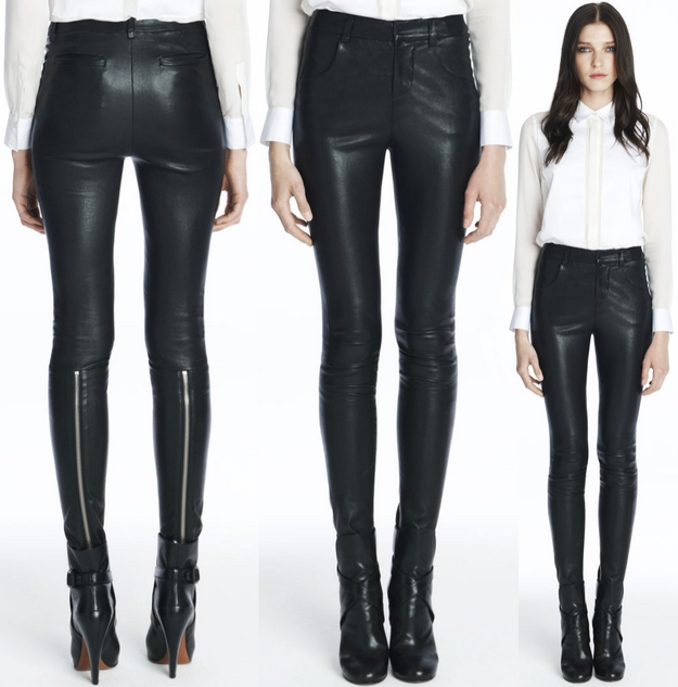 JBrand Aggy Leather Pants