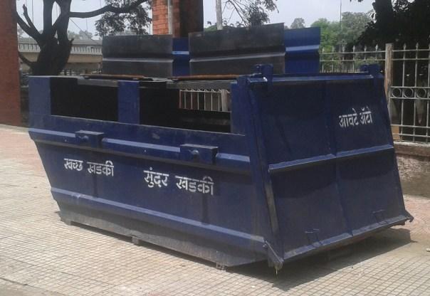 army-garbage-bin