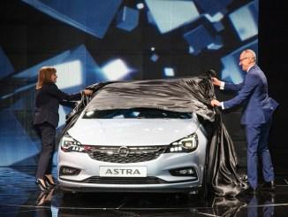 Opel Astra Frankfurt