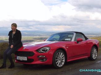 Fiat 124 Spider Ireland Review Caroline Kidd