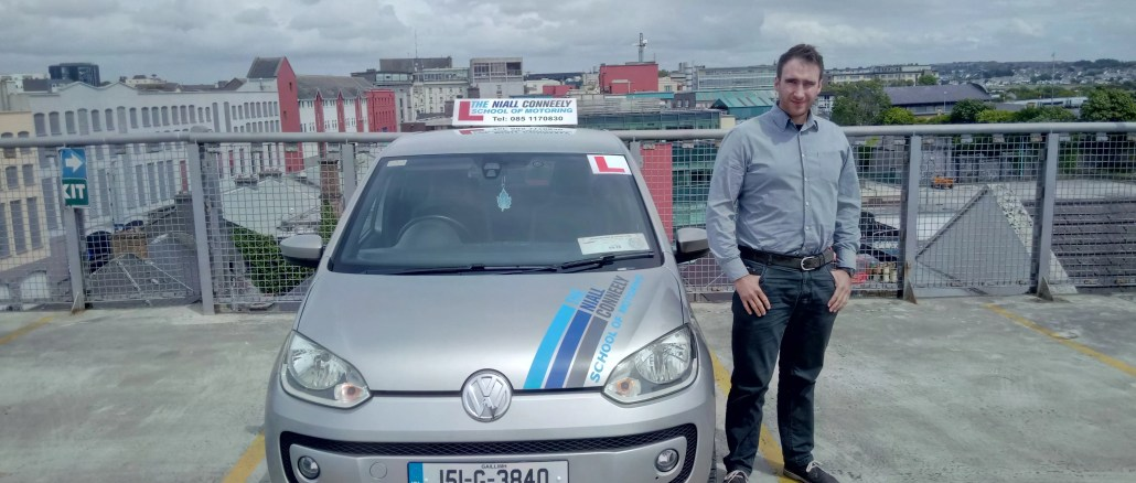 Niall Conneely driving instructor
