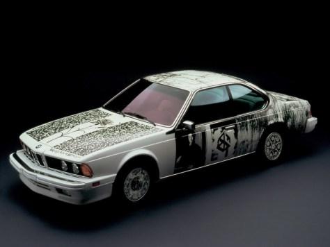 Robert Rauschenberg BMW Art Car