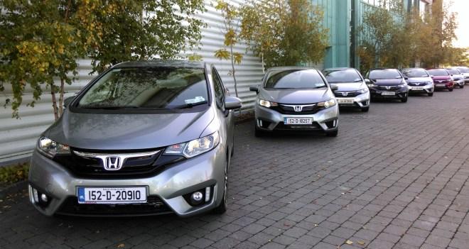 I drive the new Honda HR-V and Jazz at the Irish launch.