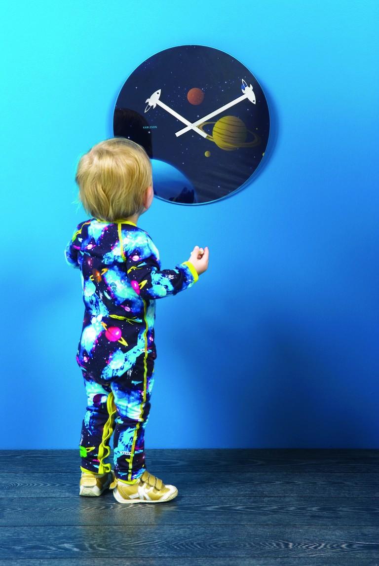 space clock