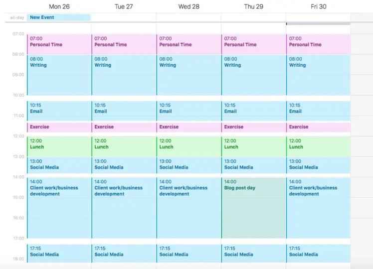 Schedule for Batching Work
