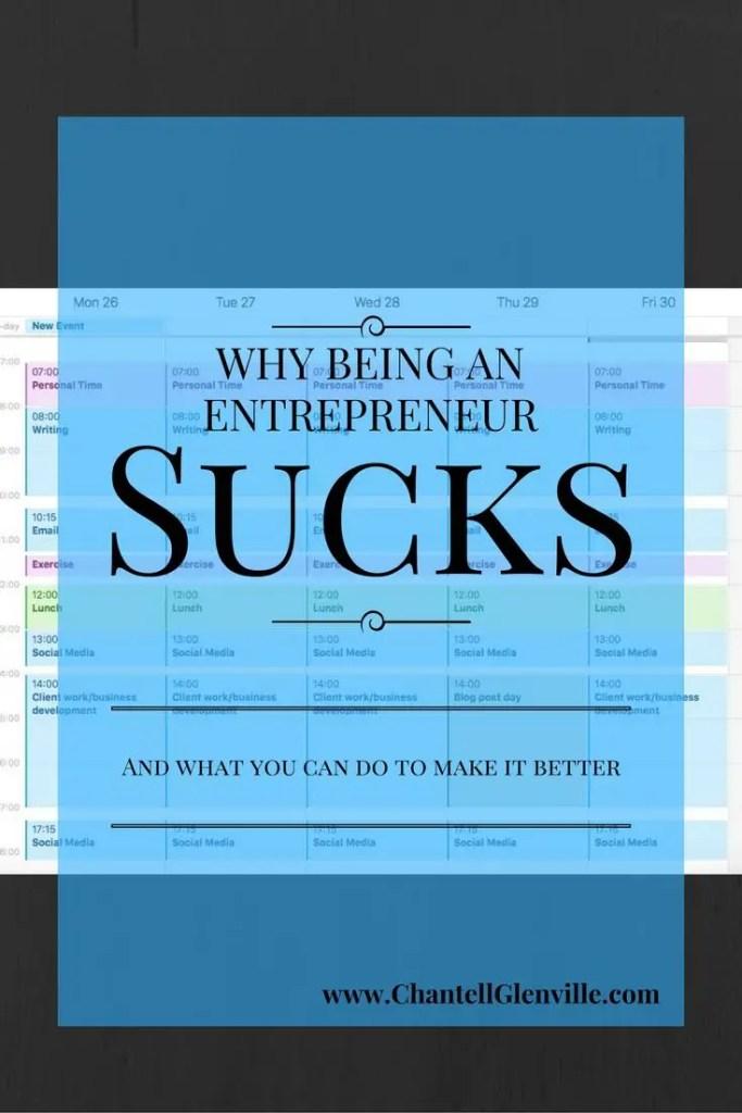 Why Being An Entrepreneur Sucks