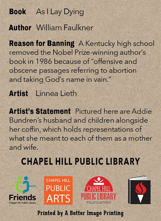 2015 Banned Books Trading Cards Chapel Hill Public Library