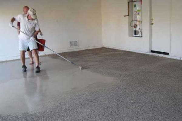 How to Apply an Epoxy Garage Floor Coating