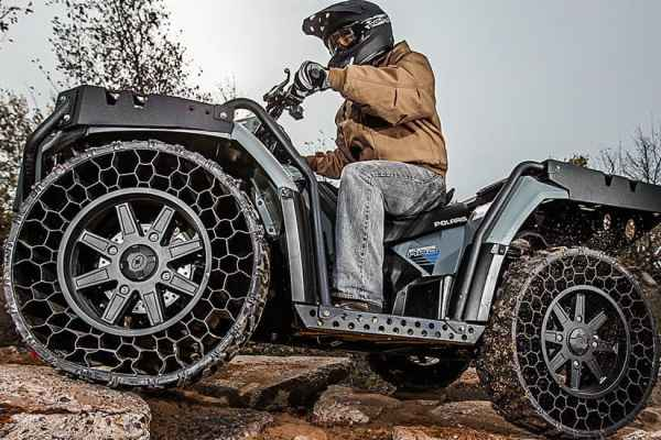 Never Flat TerrainArmor Tires from Polaris