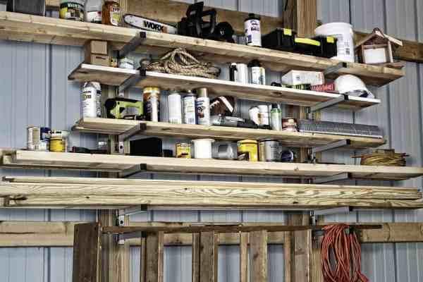 Organizing the Woodpile with Rockwell Lumber Racks