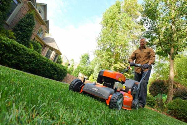 Husqvarna Goes All-In on All-Wheel Drive Lawn Mowers