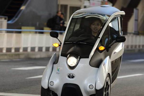 The TOYOTA i-ROAD Takes Auto Tech and Design to the Next Level