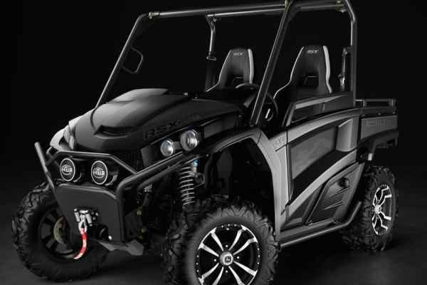 New Blacked Out Gator Utility Vehicles from John Deere