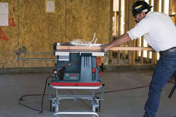 Bosch GTS1041A REAXX Portable Jobsite Table Saw Will Save Your Fingers (and blades)