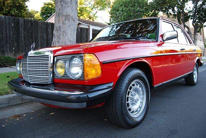 mercedes-benz-300d-red