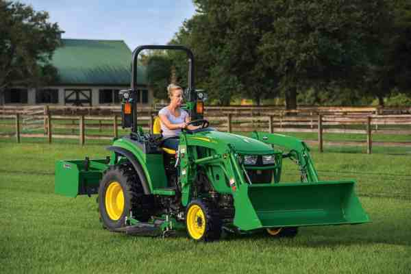 First Look: John Deere 2032R and 2038R Utility Tractors