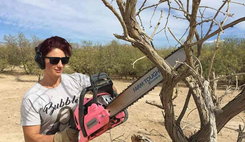 Saws for a Cause: Win a Pink Husqvarna 450 Rancher Chainsaw