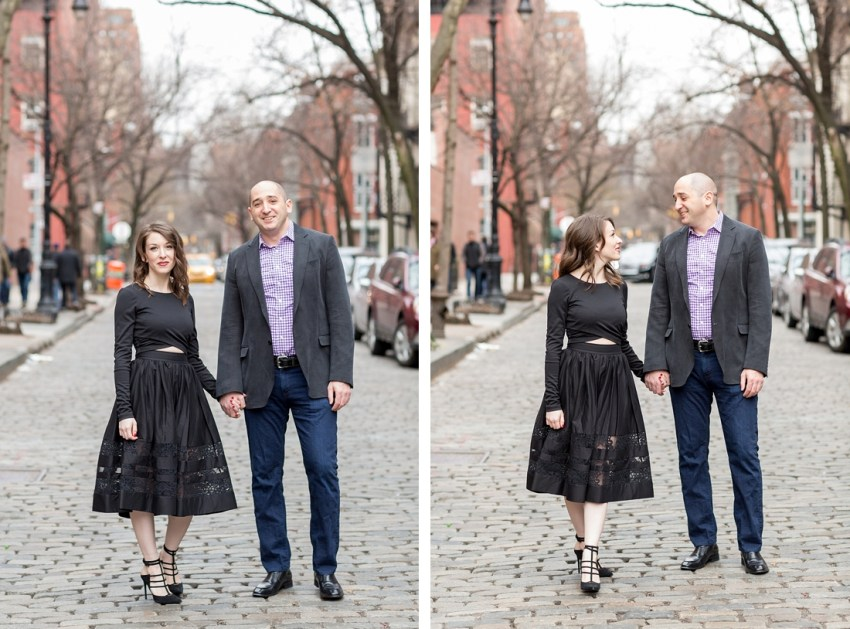 New York City Engagement Portraits, Charlie Juliet Photography