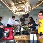 At the cooking class