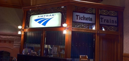 Amtrak-station