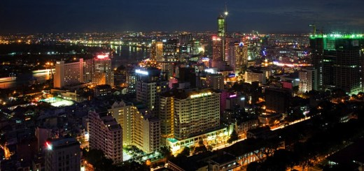ho chi minh night