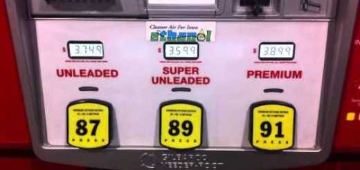 Fuel Is Subsidized In Iowa, Making 89 Grade Fuel Less Expensive Than 87 Or 91