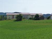 Aussenanscicht Haus Charlotte von Kusserow im Sommer
