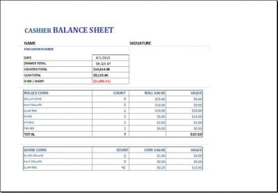 Cash Drawer Balance Sheet | charlotte clergy coalition