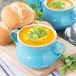 Easy Carrot & Coriander Soup