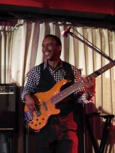 Bass Guitarist: Keith W. Williamson photo: courtesy K.W.