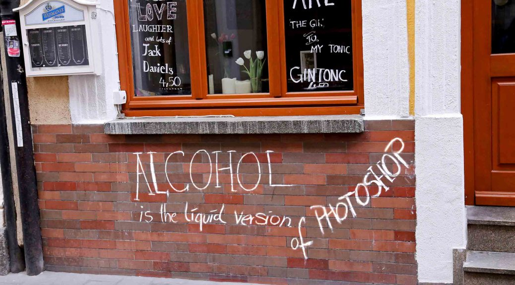 Alkohol_Photoshop, autor: charlotte moser