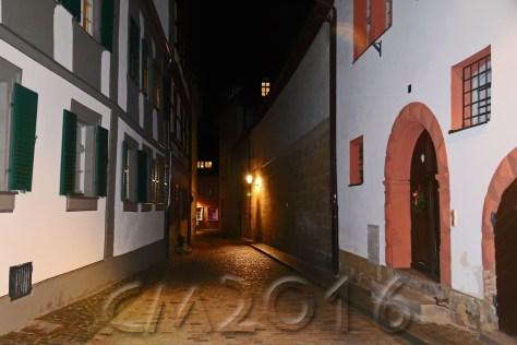 Unterwegs mit dem Nachtwächter Bamberg, Autor: Charlotte Moser