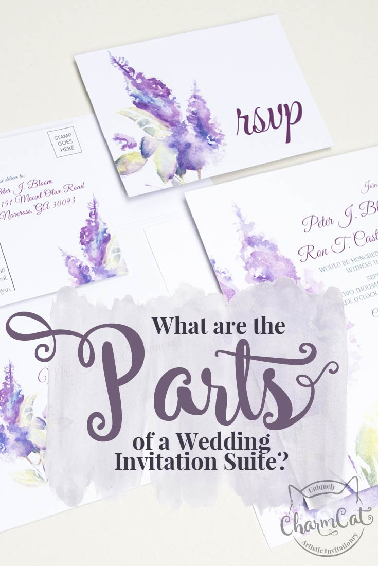 what are parts of wedding invitation suite wedding invitation suites What are the parts of a wedding invitation suite and do you need