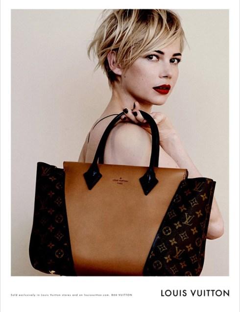 Michelle Williams & Louis Vuitton (1)- Charonbelli's blog mode