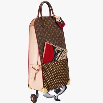 shopping-trolley-christian-louboutin-icones-et-iconaclastes-celebrating-monogram-louis-vuitton-charonbellis-blog-mode