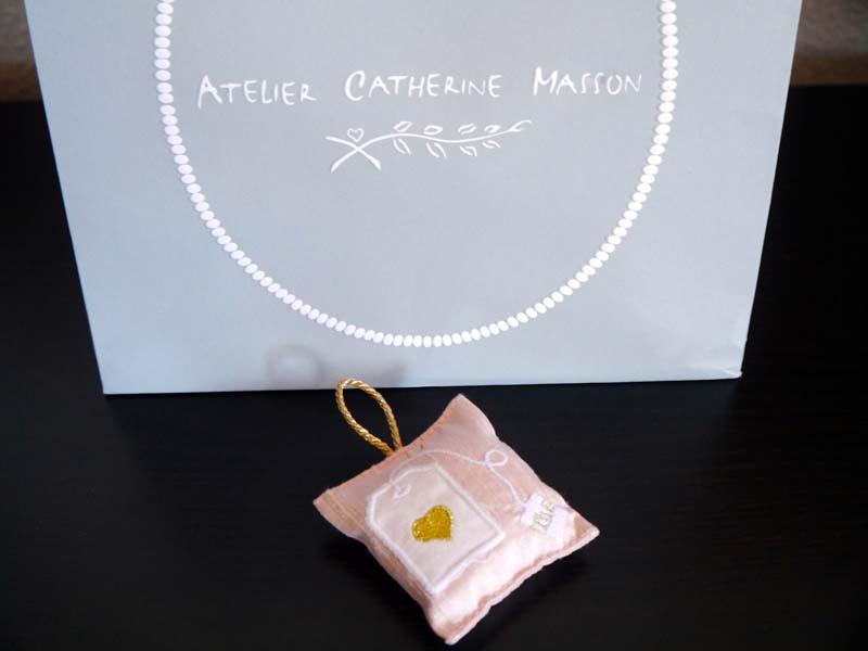 Les coussins parfumés de l'Atelier Catherine Masson - Charonbelli's blog lifestyle