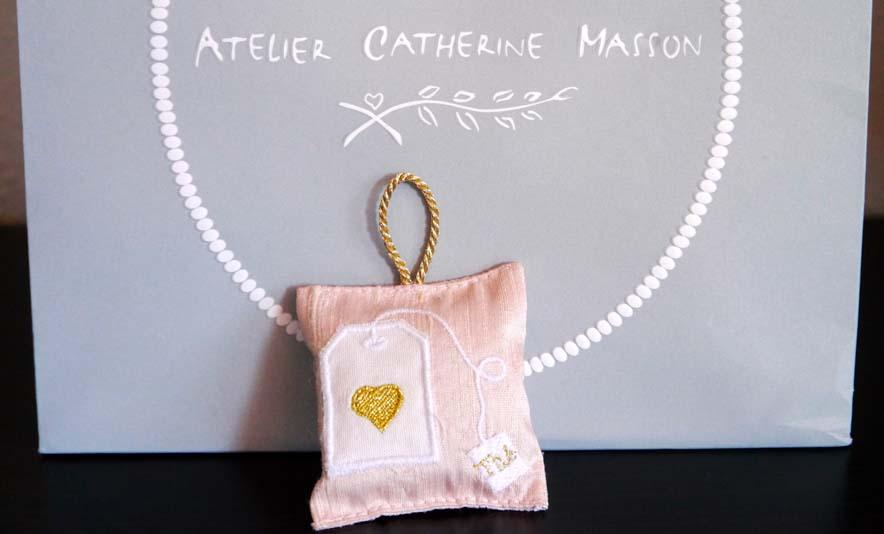 Les coussins parfumés de l'Atelier Catherine Masson- Photo à la Une - Charonbelli's blog lifestyle