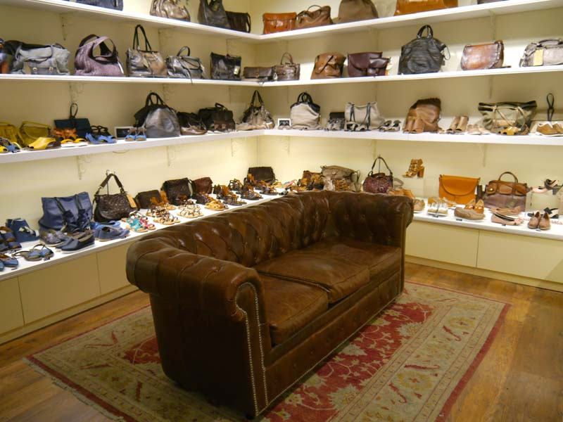 Nickel italian shoes and bags la boutique avec les plus for Canape shoes italy