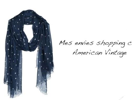 Mes envies shopping chez American Vintage - Photo à la Une - Charonbelli's blog mode