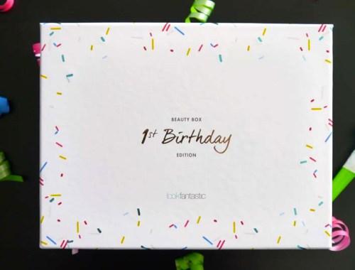 Look Fantastic 1st Birthday beauty box - le récap ! -Photo à la Une - Charonbelli's blog mode