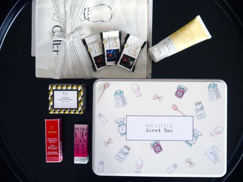 Le récap de My Sweet Little Box (4) - Charonbelli's blog beauté