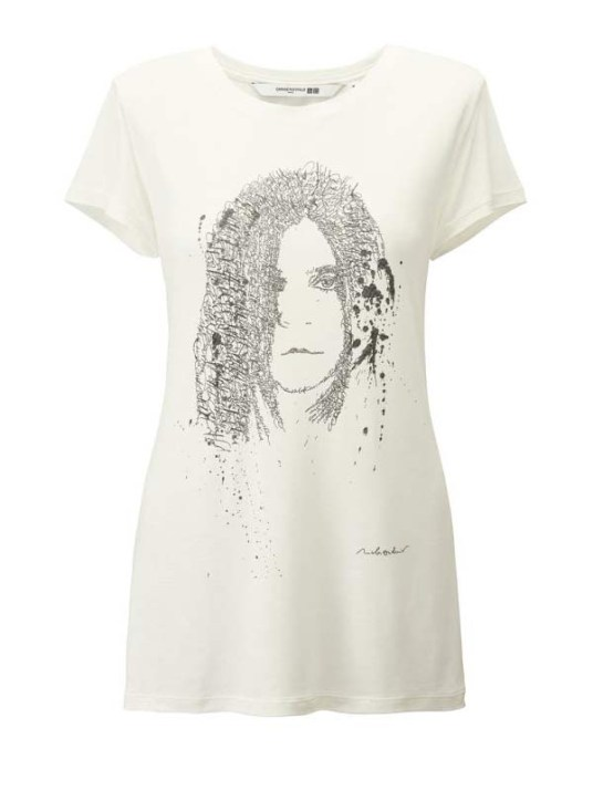 T-shirt - Carine Roitfeld X Uniqlo - la collection capsule ultra chic enfin disponible ! - Charonbelli's blog mode